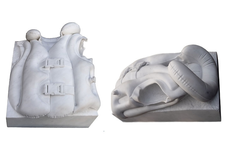 Nasreddine Bennacer sculpture marbre