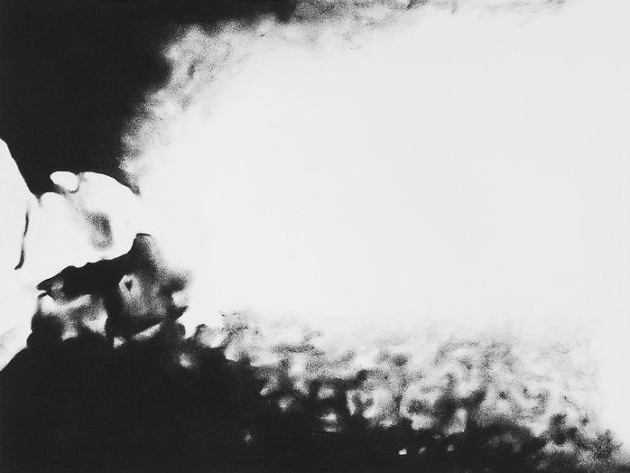 LE CRACHEUR DE FLAMME 7, 2017, Pastel su
