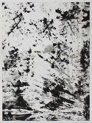 SANS TITRE (8), gouache sur papier Japon