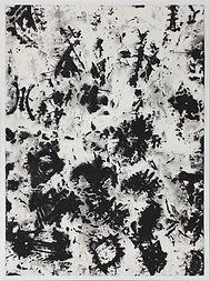 SANS TITRE (6), gouache sur papier Japon