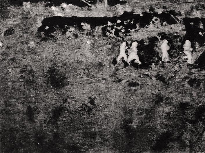 Lucioles 3, Pastel sur papier Arches, 50
