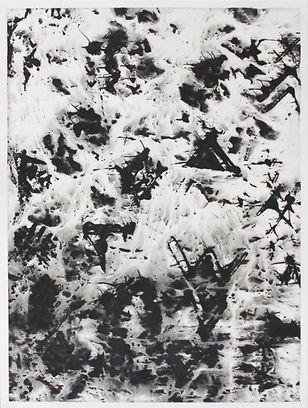 SANS TITRE (5), gouache sur papier Japon