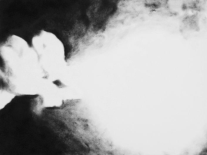 LE CRACHEUR DE FLAMME 4, 2017, Pastel su