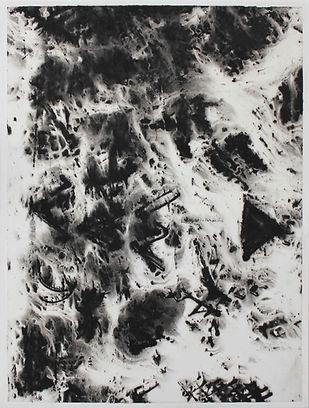 SANS TITRE (4), gouache sur papier Japon