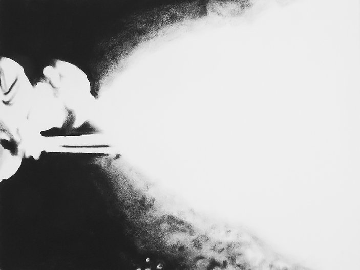 LE CRACHEUR DE FLAMME 5, 2017, Pastel su