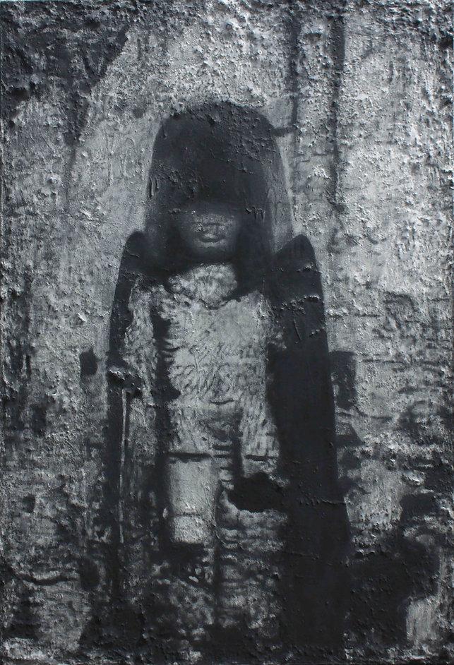 SANS TITRE III, pastel sur papier Japon