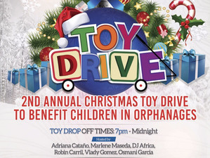 #TEAMHUMANITYMIAMI hosts its 2nd annual toy drive for children in foster care