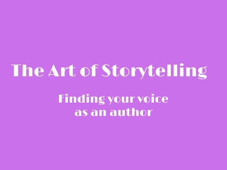 The Art of Storytelling: Setting the Tone