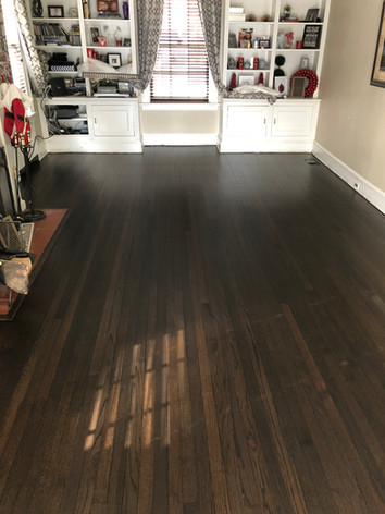 Duraseal stain w/ Loba Easy Prime & Easy Finish