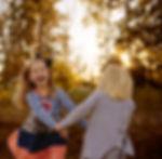 siblings unposed photo shoot fun relaxed fall photo shoot