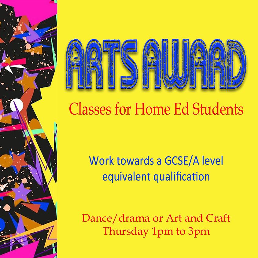 Home Ed Arts Award