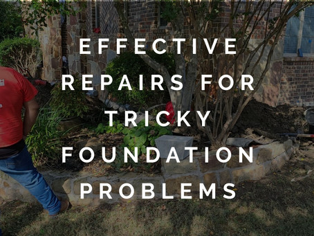Treating Tricky Foundation Problems with Effective Repairs in Allen