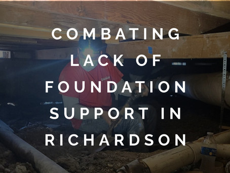 No Space for Lazy Work When It Comes to Foundation Repair in Richardson