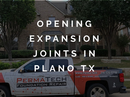 The Creepy Case of the Opening Expansion Joints in Plano, Texas