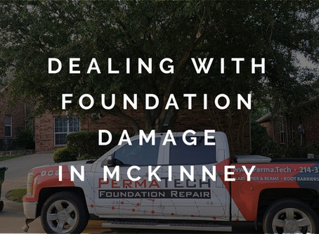 Helping Homeowners Dealing with Foundation Damage in McKinney