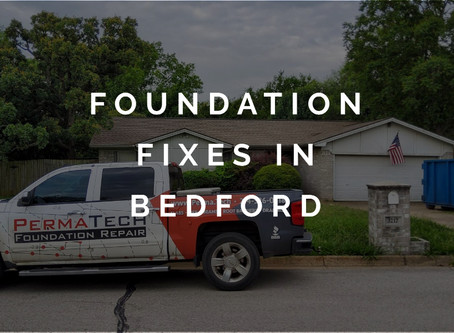 Our Foundation Fixes for a Bedford Home Investor