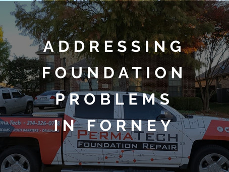 Promptly Addressing Foundation Problems in Forney TX