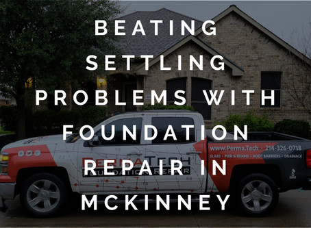 Resolving Settling Issues with Foundation Repair in McKinney