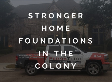 Strengthening Home Foundations in The Colony