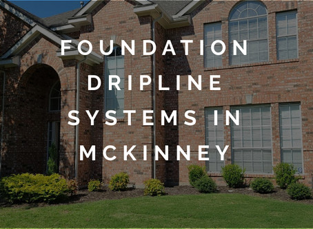 Introducing Foundation Dripline Systems to McKinney Homeowners