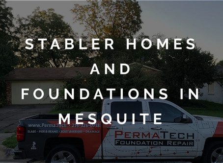 Creating Stabler Homes with Foundation Repair in Mesquite
