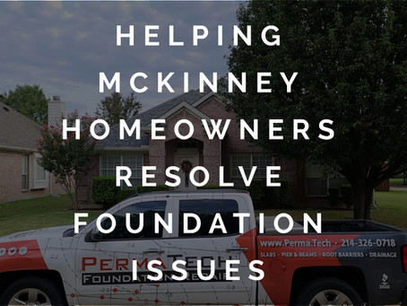 Dealing with the Horrors of Foundation Problems in McKinney