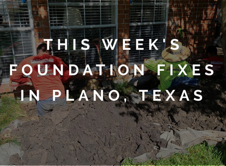 This Week's Best Fixes for Foundation Problems in Plano, Texas