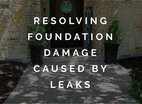 Resolving Plumbing Leak Damage with Quality Foundation Repair in McKinney