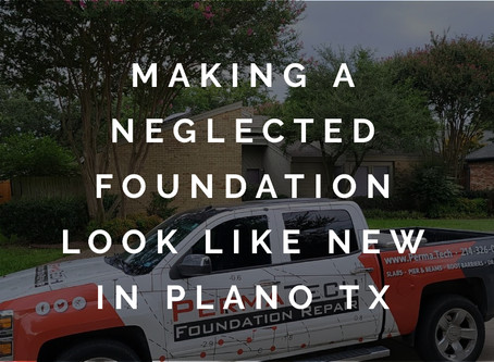 Dealing with the Effects of Foundation Neglect in Plano, Texas