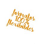 formatos 100% flexibles