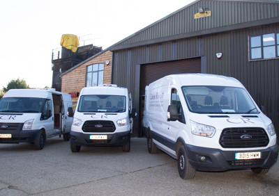 Our Delivery Vans