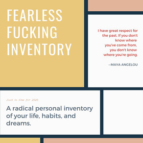 Fearless Fucking Inventory