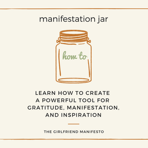Make Your Own Manifestation Jar