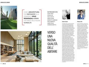 L'architetto André Straja sul numero 93 di IoArch