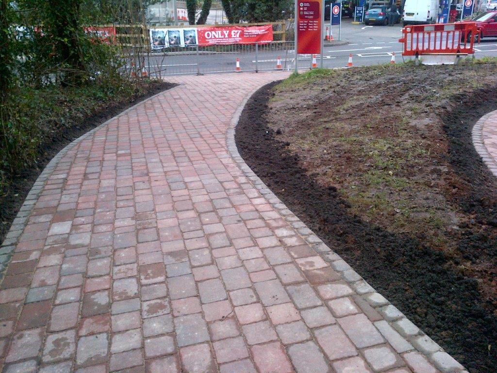 Block Paving Path