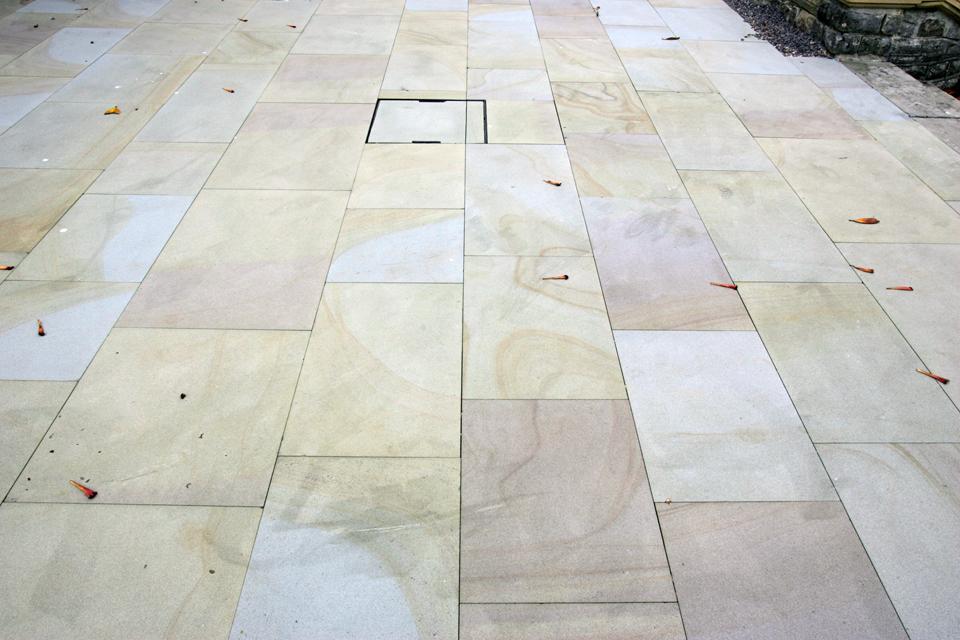 Granite Slab Path