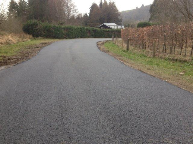 New Tarmac Access Road