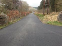 New Tarmac Access Road