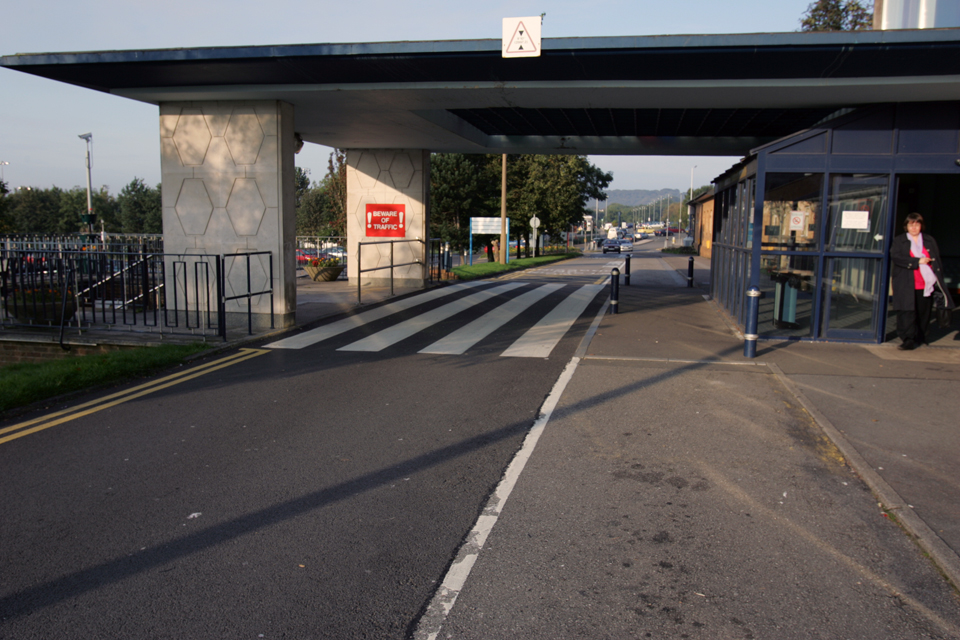 NHS Emergency Access Road