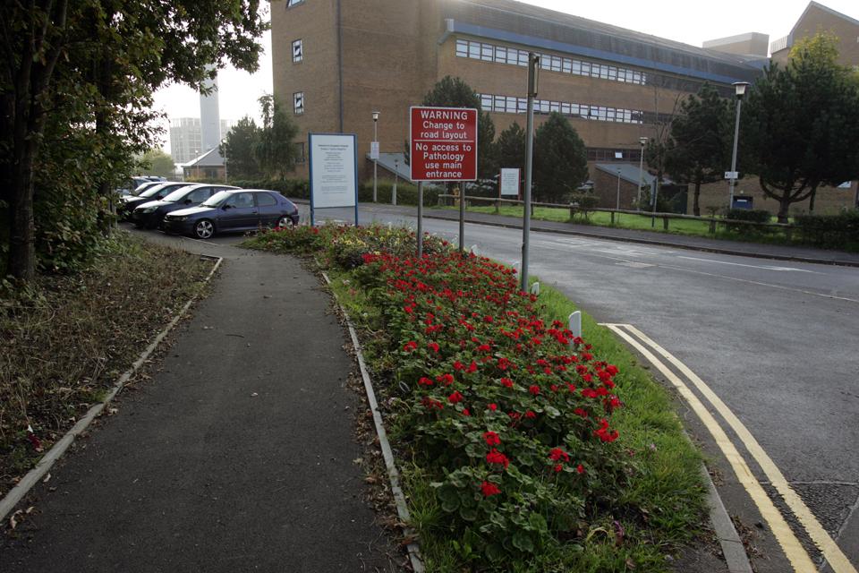 NHS Access Road