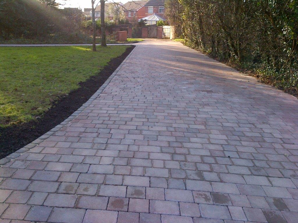 Block Paving Path