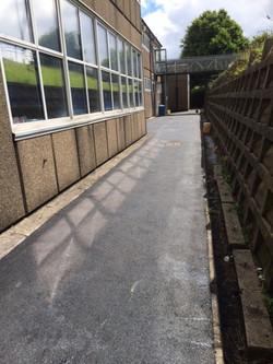Tarmac in Saint Cenydd School
