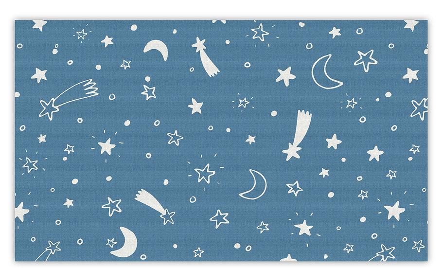 פיויסי כוכבים כחול לילדים - במגוון מידות