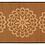 Thumbnail: Pimpernels - Bamboo Mat - Brown botanical pattern