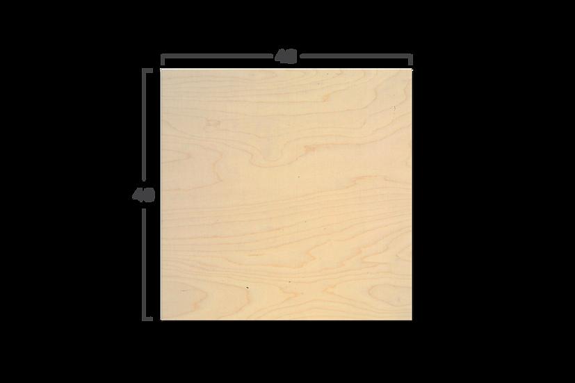 """לוח עץ במידה 40/40 ס""""מ"""
