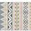 Thumbnail: Jordan - Vinyl Floor Mat - Gold and pink ethnic pattern