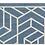 Thumbnail: Chelsea - Vinyl Floor Mat - Blue graphic pattern