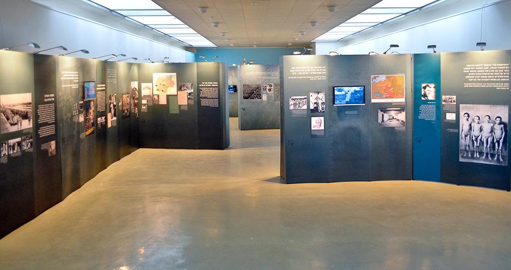 תערוכה במוזיאון לוחמי הגטאות