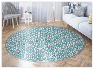 שטיחי PVC עגולים