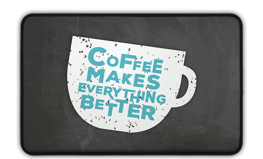 ארגונומי כוס קפה כחול לבן - במגוון מידות